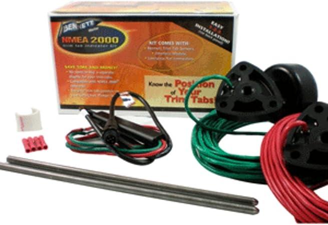 Bennet Kit INDICADOR NMEA 2000, Rojo/Verde, 0: Amazon.es: Deportes y aire libre