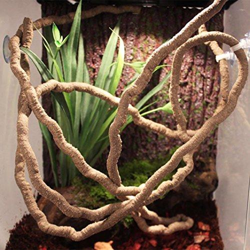 """Review Niteangel Jungle Vines, Reptile Habitat Décor (98"""" x 0.4"""")"""