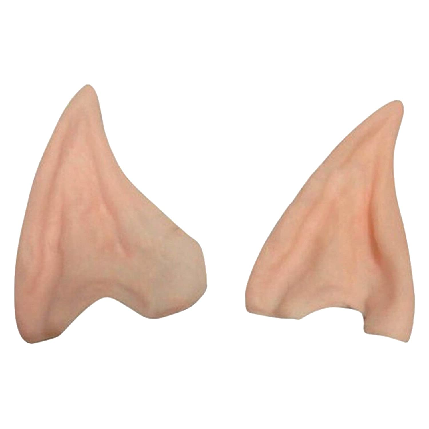 Latex Prosthetic Fairy Pixie Elf Ear Halloween Costume Cosplay Stage Prop Lf