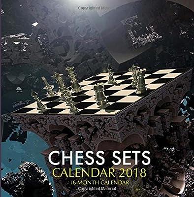 Chess Sets Calendar 2018: 16 Month Calendar