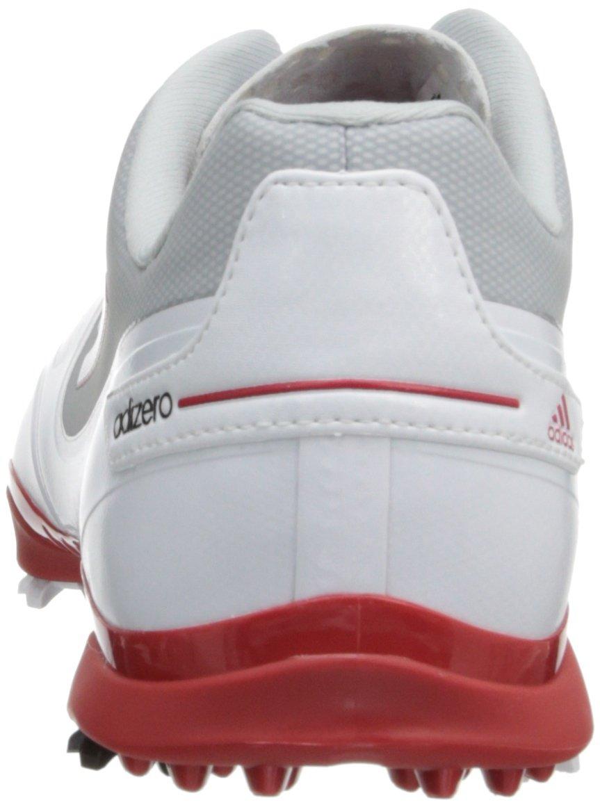 adidas Zapatillas de golf adizero one para hombre Blanco   rojo   gris claro 44f5605a0f0f7