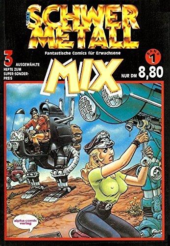 Top-Zustand Fantastische Comics für Erwachsene 140 Schwermetall Magazin Nr