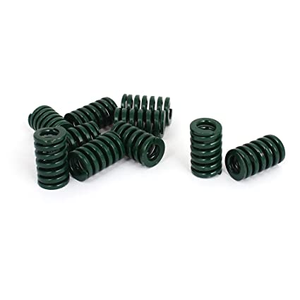 30mm OD 60mm Long Heavy Load Stamping Compression Die Spring Brown