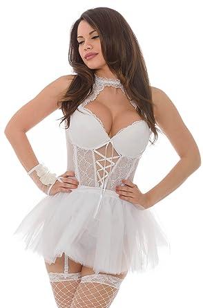 c4c85d74a6f8 Velvet Kitten Sweet Sensations Set Bridal Lingerie Bustier Lingerie Dress  (Small)