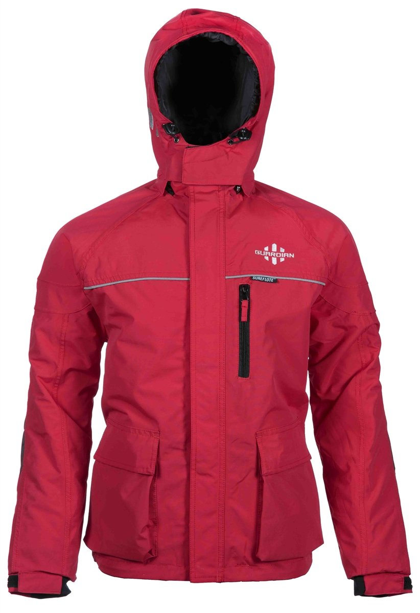 Striker Ice Guardianジャケット – レッド – Large B017ZLS9WC