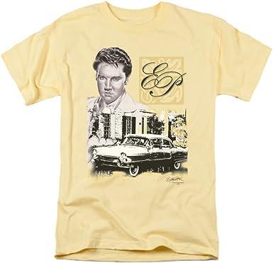ELVIS PRESLEY Singer Rock Music Icon Elvis EP Graceland Camiseta para adultos