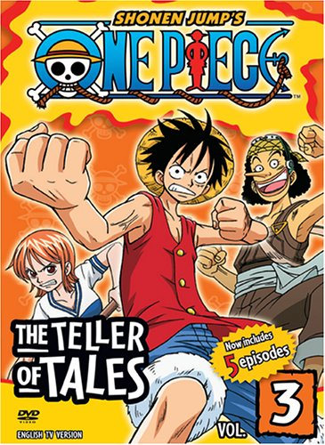 One Piece, Vol. 3 - The Teller of Tales by 4 Kids Entertainment