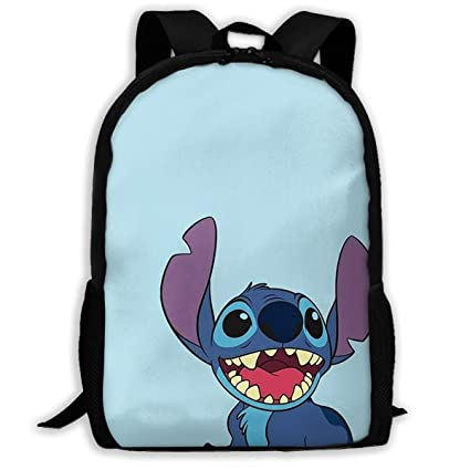 6ca5219832b4 Amazon.com: Custom Lilo and Stitch Casual Backpack School Bag Travel ...