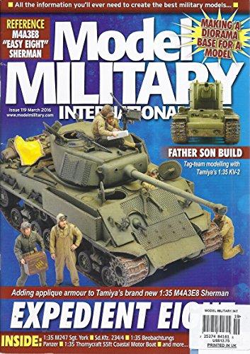 Model Military International Magazine (Issue 119 - March 2016 - Tamiya's 1:35 KV-2) (Tamiya Magazine)