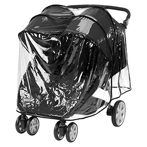 Comfy Baby Stroller Raincover Weathershield Fits the Britax B-Agile 3 and Britax B-Agile 4 (Double)