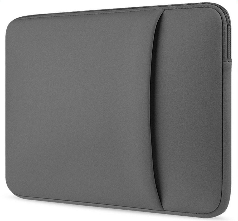 Topdo Estuche port/átil para computadora port/átil 13 Pulgadas Estuche para Laptop para MacBook Air//MacBook Pro//Laptop Negro