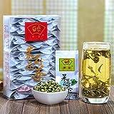 China Tea Leisurely tea tea drunk Jasmine Tea 2017 Green Tea Luzhou small bags of Fujian Jasmine White Pearl Tea 125g