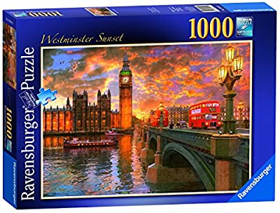 Ravensburger Westminster Sunset - 1000 Pieces - Puzzle