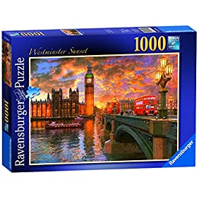 Westminster Sunset - 1000 Pieces - Puzzle - Ravensburger