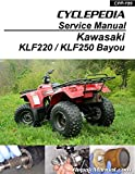 CPP-199-P Kawasaki Bayou 220 250 KLF220 KLF250 Printed Cyclepedia ATV Service Manual