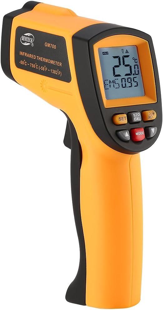 Benetech Gm700 LCD sans Contact IR Laser Thermomètre