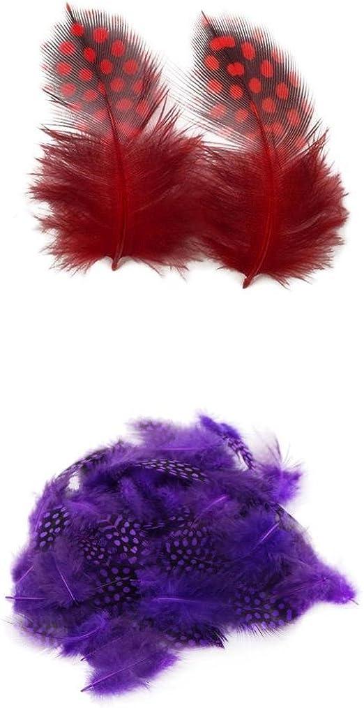 Décoration,Maison,Bricolage,Créatif,Artisanat Plumes de Coq Violet 7 à 10cm