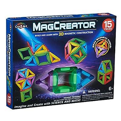 Cra-Z-Art 83 Piece RC MagCreator Set: Toys & Games