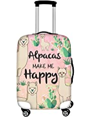 INSTANTARTS Animal Sloth Travel Luggage Cover Fit for 18-30 Inch Kid Suitcase