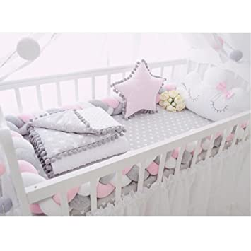Back To Search Resultsmother & Kids Baby Bedding Cheap Sale Knot Baby Pillow Baby Room Decor Kids Head Protection Braided Knots Cushion Baby Decoration Room Newborn Photography Accessories