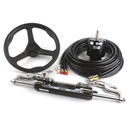 Amazon com : OS0350 Max 300hp Hydraulic Steering Cylinder