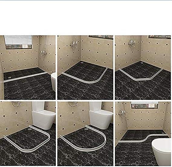 QYHSS - Junta Flexible de Silicona para mampara de Ducha o baño ...