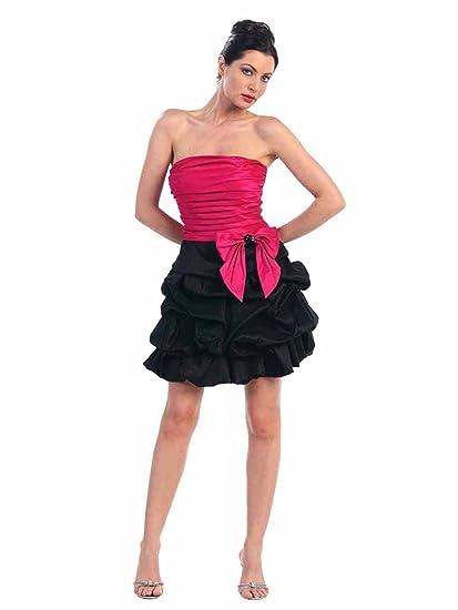 Fuchsia Cocktail Dress
