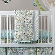 Carousel Designs Bebe Jardin 3-Piece Crib Bedding Set