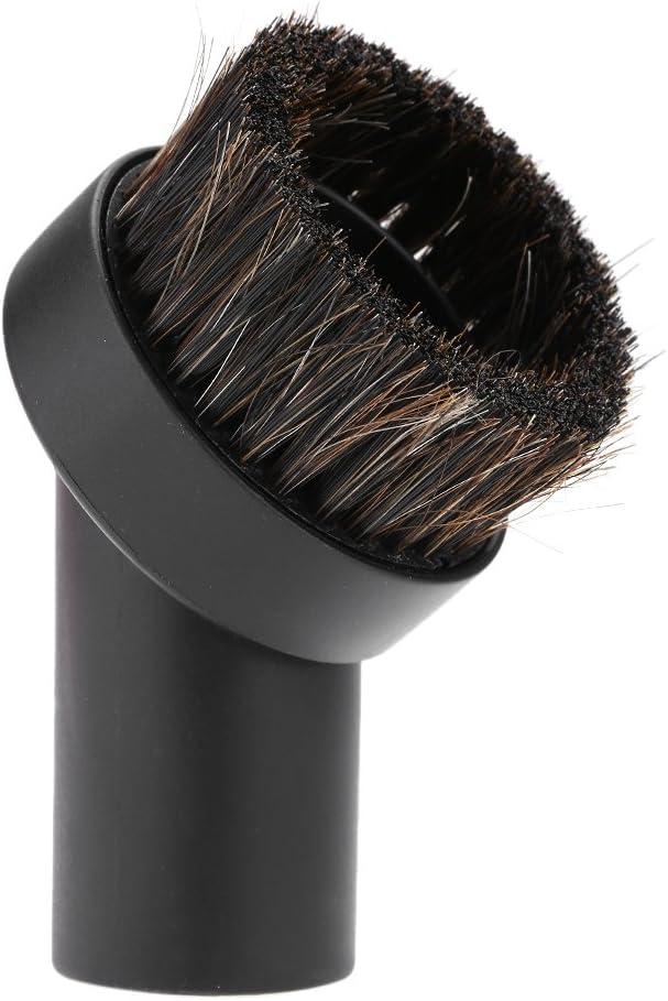 Cepillo del aspirador, Accesorio del aspirador 1pc Cepillo del pelo de caballo Cepillo del limpiador del polvo del piso Cabeza 32m m