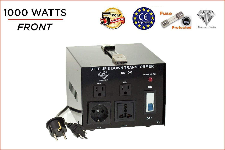 Diamond Series DSR-2500 w// Regulator Watt Step Up//Down Voltage Converter