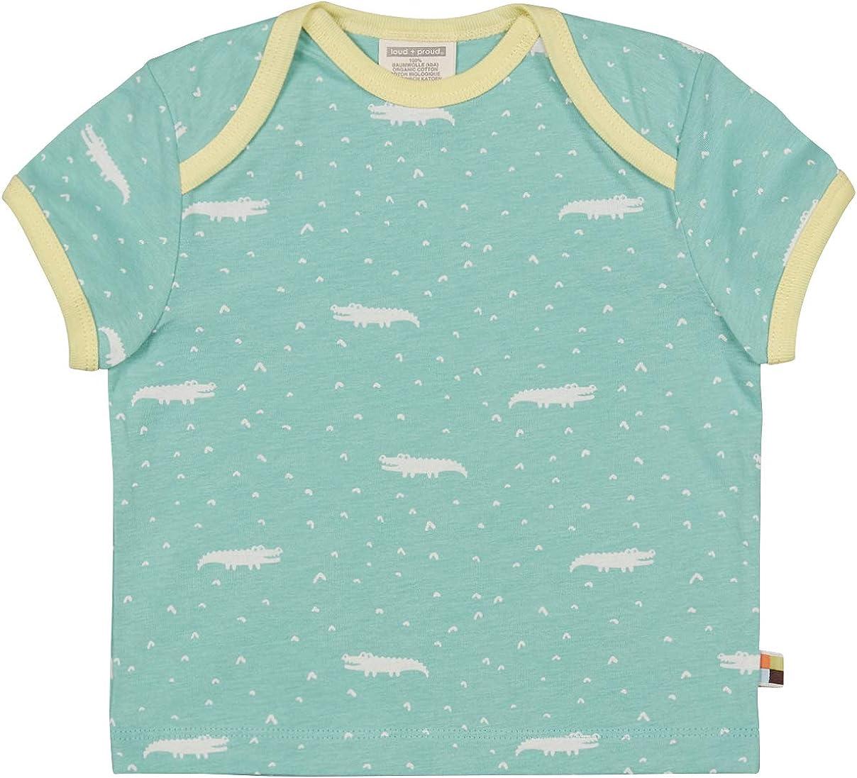 loud proud Baby Girls Shorts Allover Print Organic Cotton