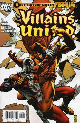 (Villains United #5 VF/NM ; DC comic book)