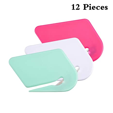 Amazon.com: Cuchillo de plástico con purpurina para sobres ...