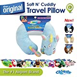 Cloudz Plush Animal Travel Neck Pillow - Unicorn