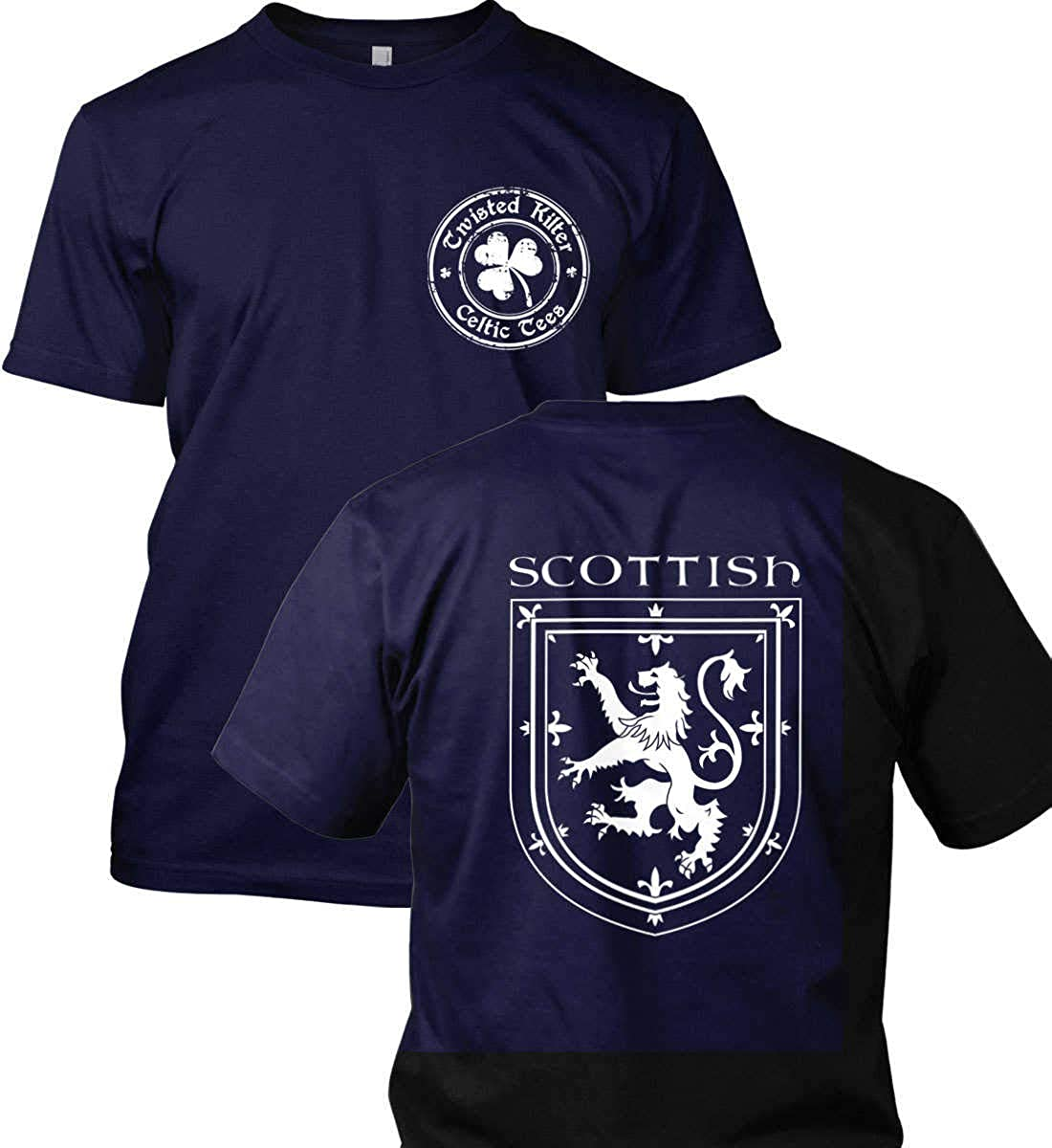 Griffin in Shield Scottish T-Shirt Made in USA T-Shirt. Scottish