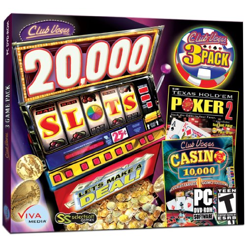 [Club Vegas Triple Pack - 20,000 Slots and Much More!] (Ultimate Poker Dvd Collection)