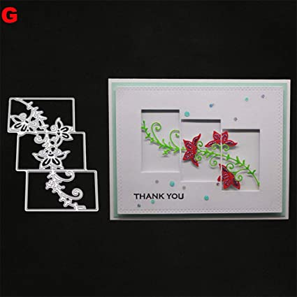 Thanks Alphabet Design Metal Cutting Dies For DIY Scrapbooking Album CardsBL