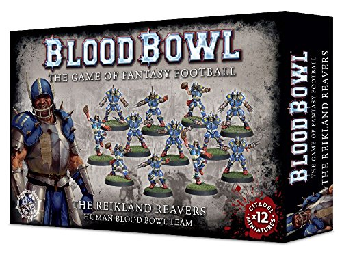 Blood-Bowl-the-Game-of-Fantasy-Football-The-Reikland-Reavers-Human-Team-12-Miniatures