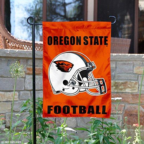 Helmet Oregon State Mini Beavers (OSU Beavers Football Helmet Garden Flag)