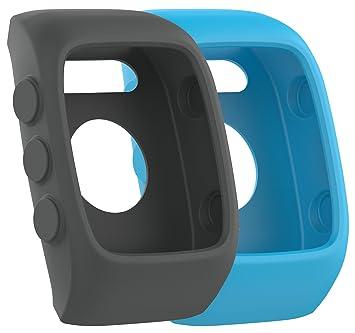 Funda protectora de repuesto para relojes Polar M430, de silicona suave y flexible, 2-Pack-J: Amazon.es: Deportes y aire libre