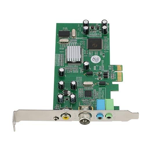 KKmoon Tarjeta Sintonizadora de TV Interna PCI-E Video MPEG ...