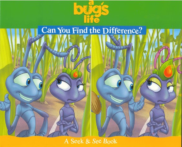A Bug S Life Can You Find The Difference Seek See Bk Parent Nancy Dicicco Digital Arts Phillipson Andrew Saunders Shawn 9781570829376 Amazon Com Books