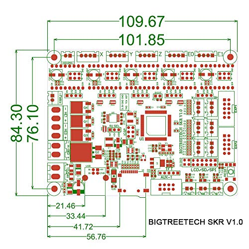 BIQU 3D Printer Part SKR V1.1 32-Bit with ARM CPUControl Board Open Source SmoothieboardSupport TMC2130 TMC2208 Driver 12864 LCD by BIQU (Image #2)
