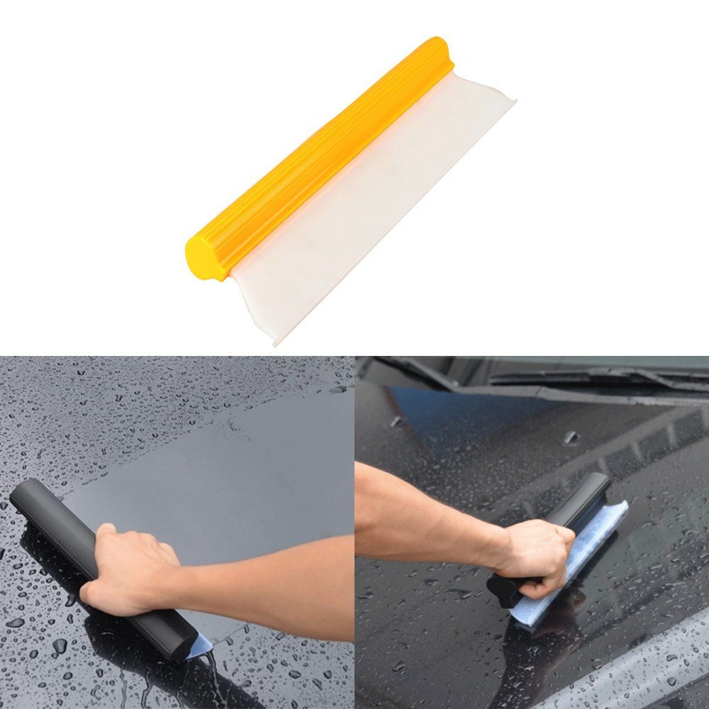 Jscarlife Professional Water Blade 14 Inch Squeegee Quick Drying Wiper Blade Squeegee 5559000692 Silicone T-Bar