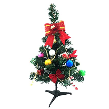 ylcoyo mini christmas tree 60cm desktop christmas decoration tree home decoration