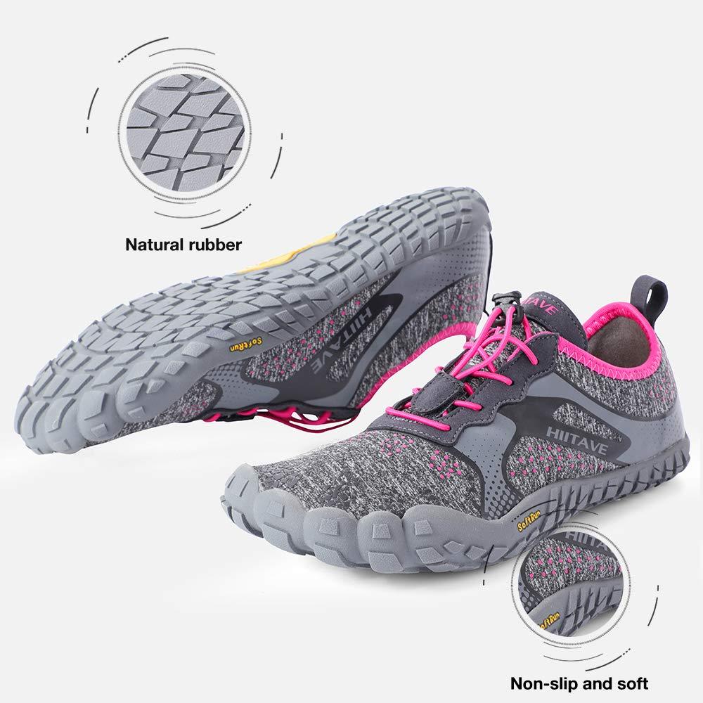 hiitave Herren Damen barfu/ßschuhe Traillaufschuhe Fitness Cross-Training Schuhe