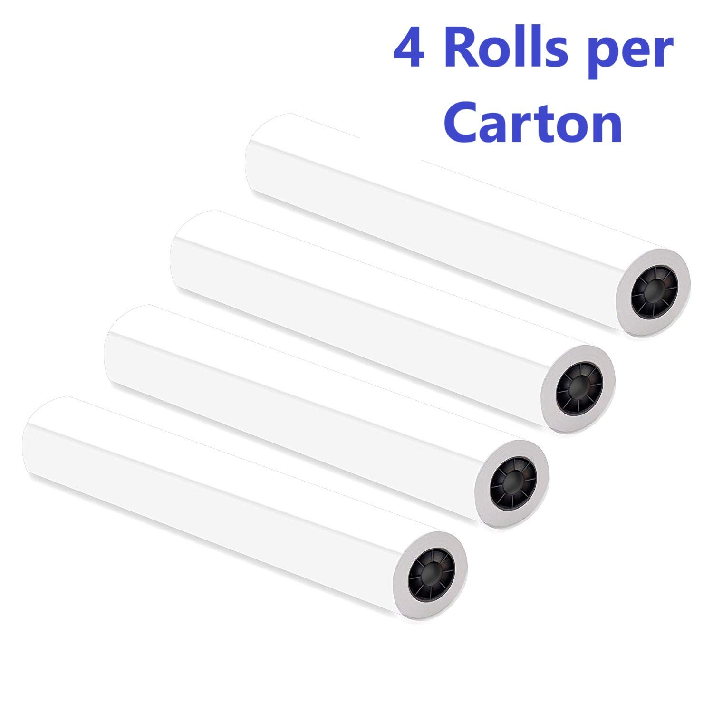 Alliance Paper Rolls, Bond Engineering, 12'' x 500', 92 Bright, 20lb - 4 Rolls Per Carton with 3'' Core