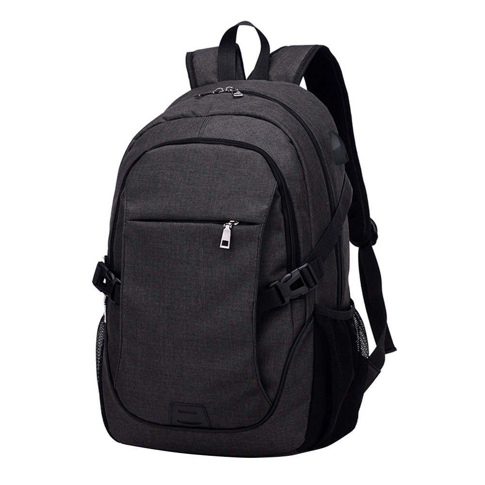 Anxinke Men Teen Boys Casual Travel Rucksack Computer Backpacks Bags (Black)