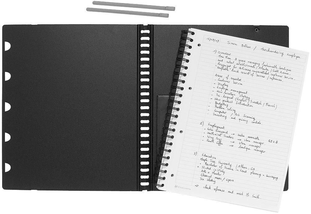 Rhodia Exabook - Agenda de espiral (A5, 160 páginas)