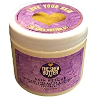 SKIN RESCUE - Shea Body Butter with Coconut & Lavender Oil - 200ml by The Shea Butter Company - 100% Pure & Organic